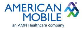 Logo for American Mobile Healthcare