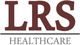 Logo for LRS Healthcare