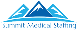 Logo for Summit Medical Staffing